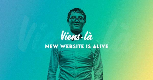 Viens-là, agence digitale indépendante spécialisée dans la création d'univers de marque, la réalisation de sites web et le design d'applications mobiles