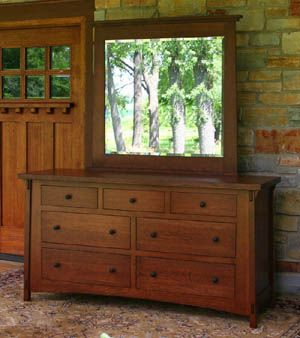 Craftsman Furniture for Sale- Mission Style, Quartersawn Oak, Stickley Influence