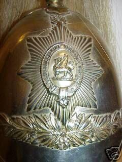 Montgomeryshire Yeomanry Helmet.