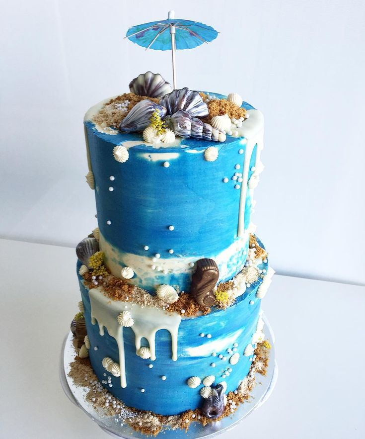 Shelley Wong On Instagram Beach Themed Baby Shower Cake
