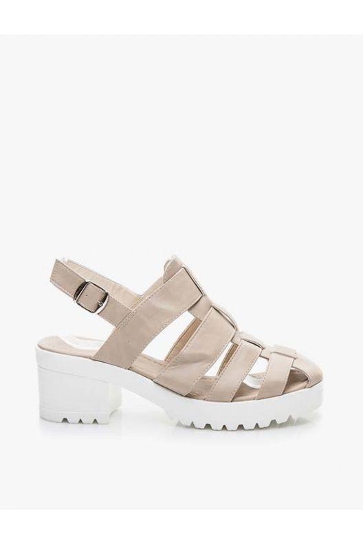 Susie - summer sandals beige