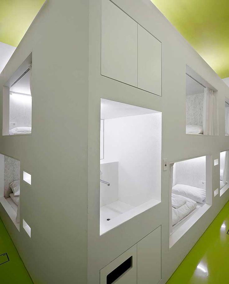 a modern hostel