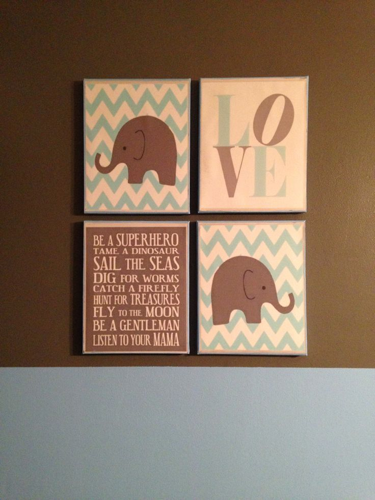 DIY Canvas Nursery Art My Pins Pinterest Love Canvas Canvases And Grey