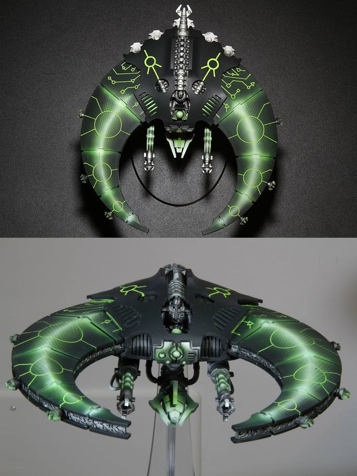 CoolMiniOrNot - Necron Doom Scythe by mephiston.eldorian