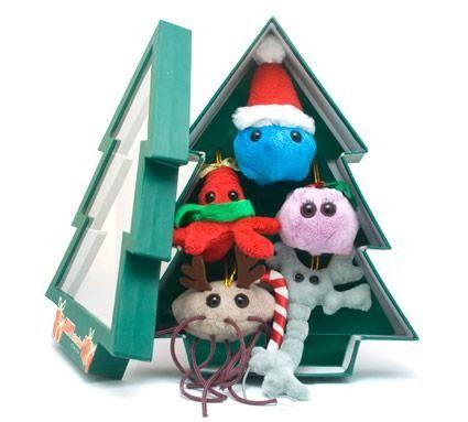 Christmas Tree Mini Microbe Box