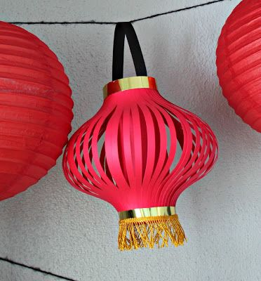 How to Make Chinese Lanterns | Chinese Lantern Printable