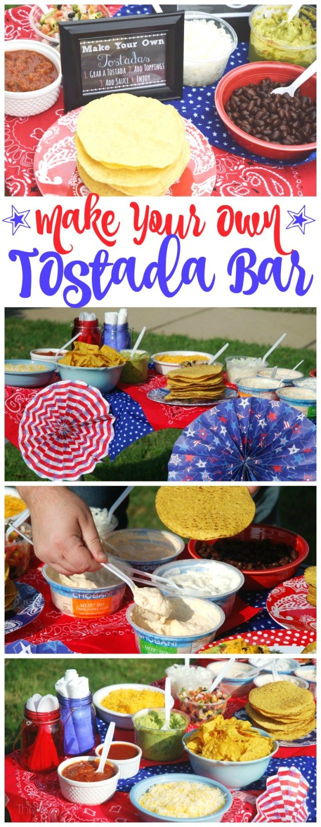 #DipIntoMeze w/ @Chobani with a Make Your Own Tostada Bar this weekend for an easy party or get together! #ad