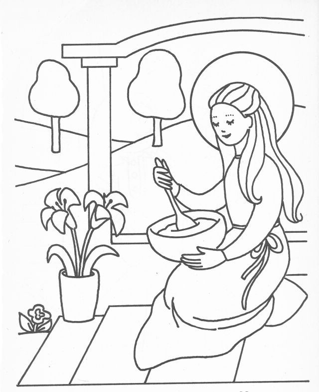 20 Best Of Stock Of Mother Mary Coloring Page Coloring Pages