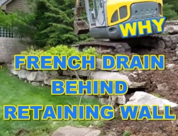 How to build a french drain that will last for decades