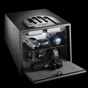 GunVault Biometric Fingerprint Gun Safe