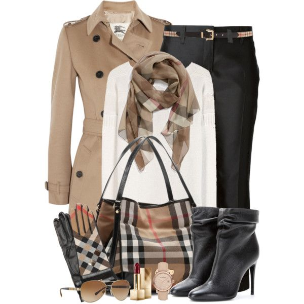 A fashion look from January 2015 featuring white cashmere sweater, beige trench coat and cropped capri pants. Browse and shop related looks.