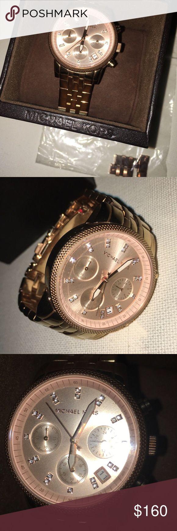 Michael Kors Watch Rose gold mk watch Michael Kors Accessories Watches