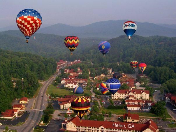 Helen, Ga - in the Blue Ridge Mountains and on the Chattahoochee River