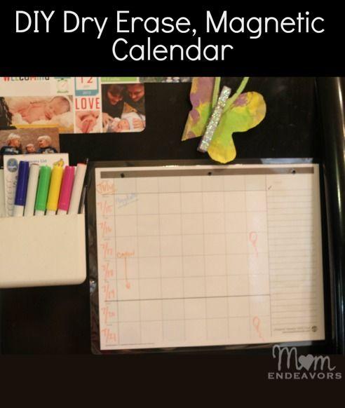 Diy Magnetic Calendar : Best magnetic calendar ideas on pinterest label