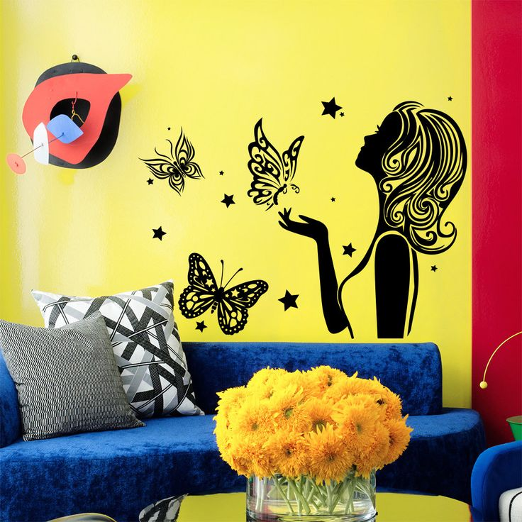 The 16 best Wall Decals Beauty Salon images on Pinterest | Beauty ...