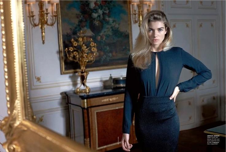 Jessica Hart for Vogue Australia