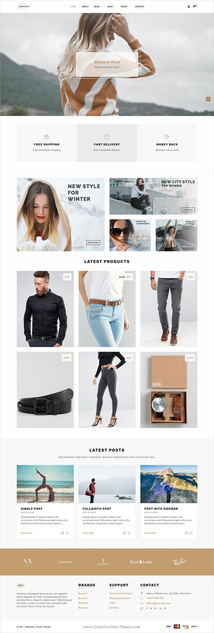 MS is an beautiful and functional design HTML #bootstrap template for #minimal #shop eCommerce website with 6 unique homepage layouts download now➩ https://wrapbootstrap.com/theme/ms-minimal-shop-template-WB024960N?ref=datasata