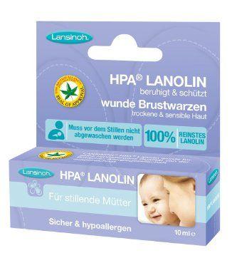 Lansinoh 10920 HPA Lanolin Brustwarzensalbe, 10 ml: Amazon.de: Baby