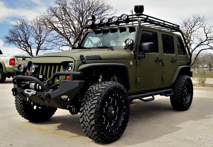 2013 Jeep Wrangler Unlimited Rubicon Denton, Texas   Lone Star Conversions
