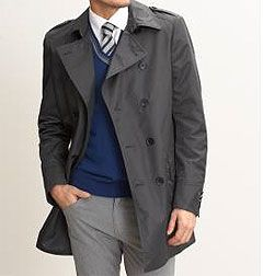 the formal raincoat