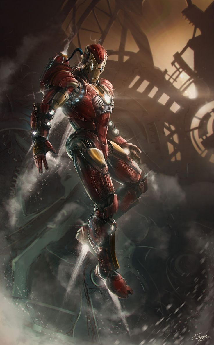 Iron Man By Kailyze Thibault Girard
