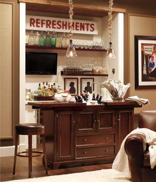 17 Best Ideas About Home Bar Areas On Pinterest