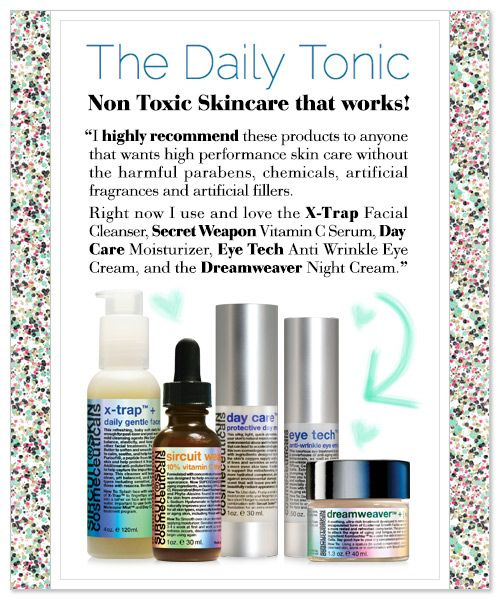 We were SO thrilled to stumble across this glowing review today from Jill Latiano Howerton, of The Daily Tonic (a MUST stop on the daily blog crawl for all of you ingredient savvy SIRCUIT® addicts out there). To check out her full review on The Daily Tonic, Click Above