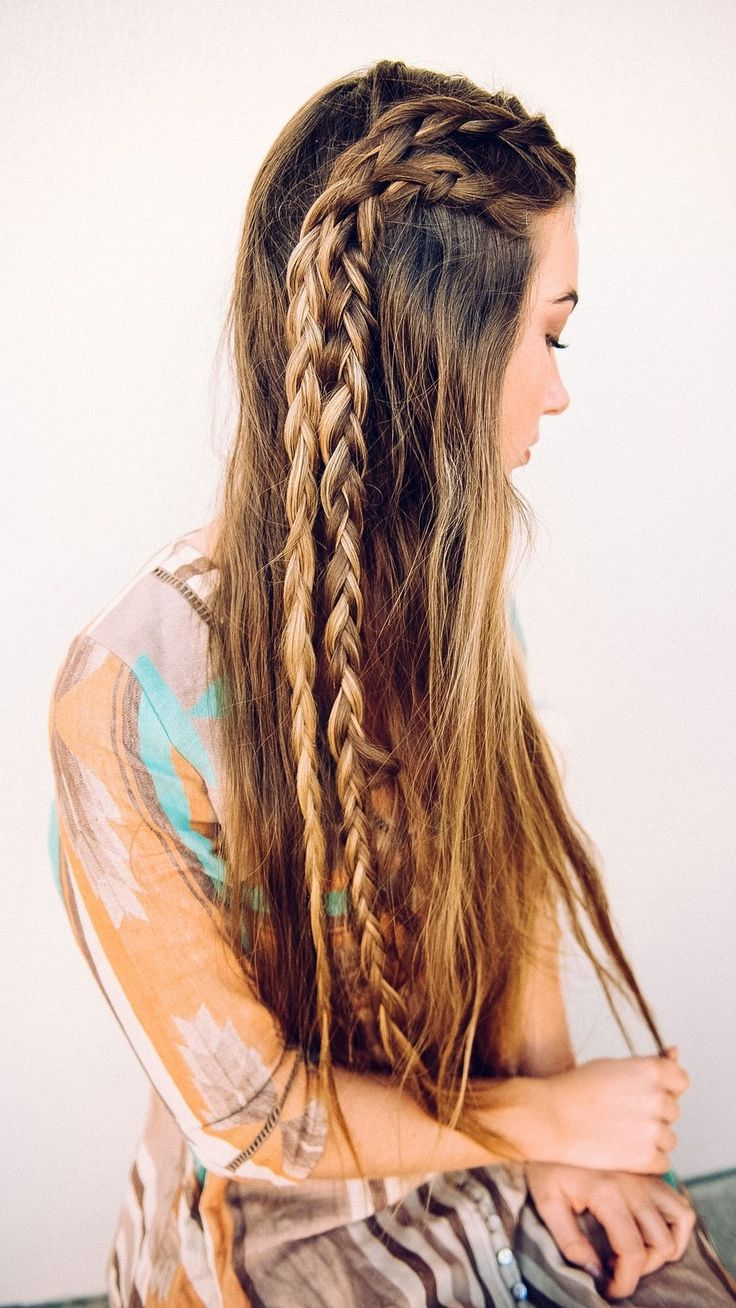 long hair ponytail styles 607 best images about braided braiding braids on 3229 | 2e49f14ec8fb0b157feb2891691591e7 bohemian braids boho braid