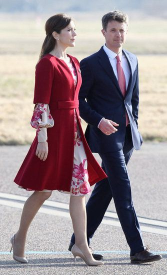 Princess Mary and Frederik, the Crown Prince of Denmark