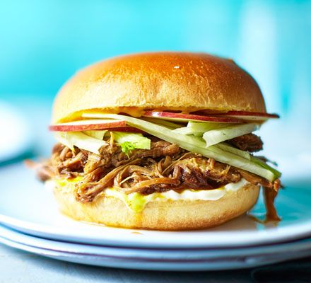 Slow cooker pulled pork recipe | BBC Good Food