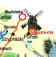 mapa Suwalszczyzny