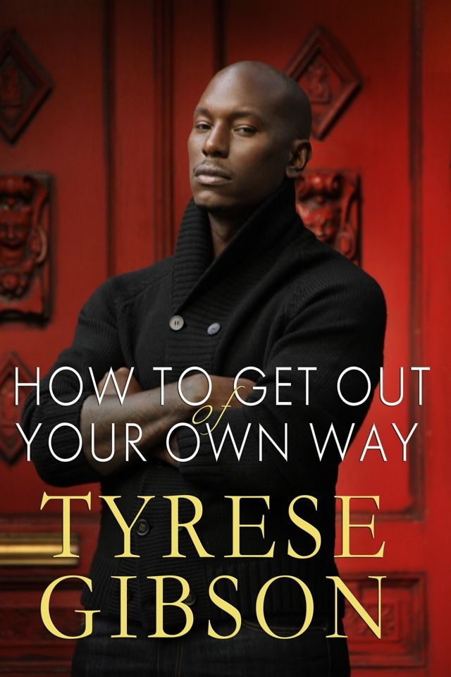 tyrese gibson   Tyrese Gibson signs his new book How to Get Out of Your Own Way on ...