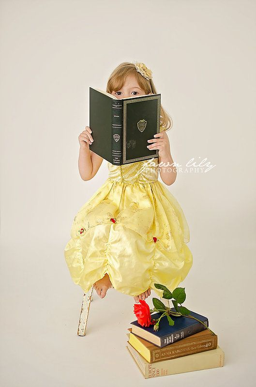 Fawn Lily Photography - Sidney BC Photographer - Children's Photographer - Stylized Session - Belle Photoshoot - Princess Belle - disney princess photos
