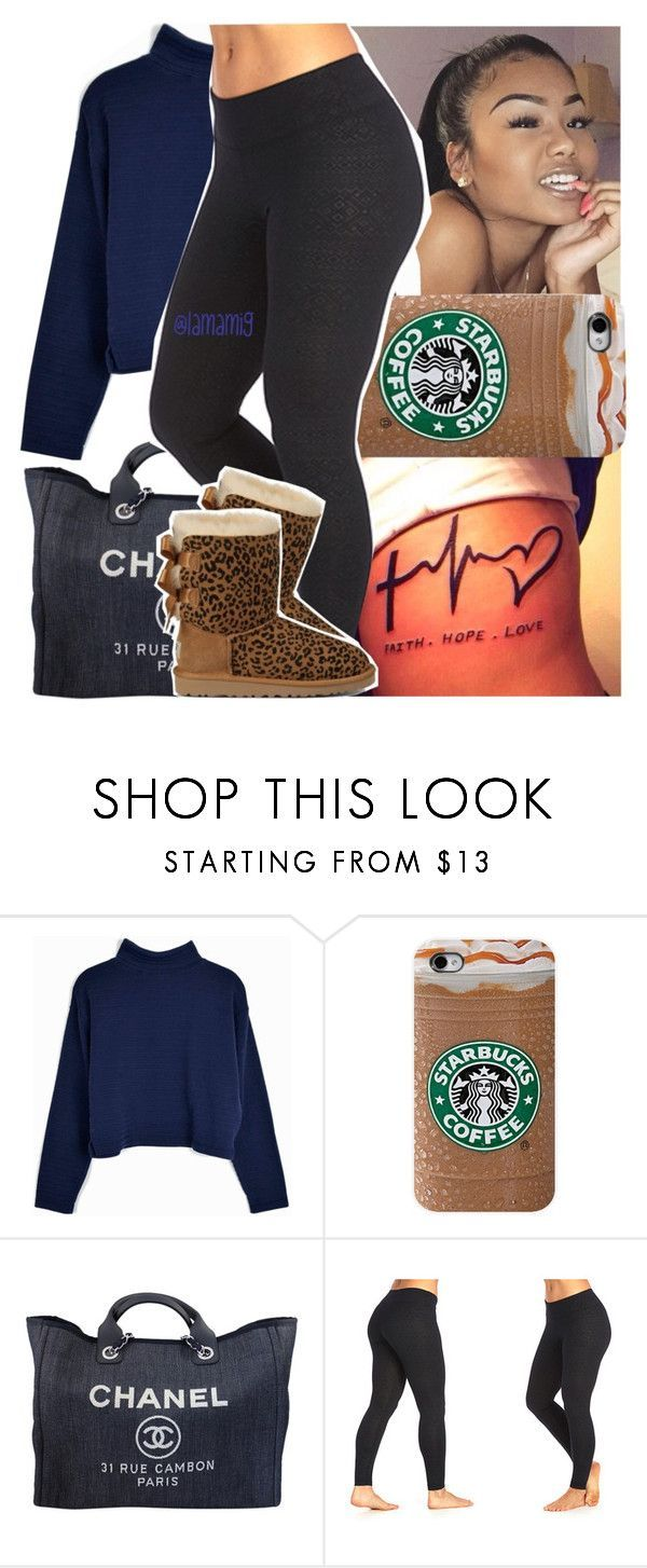 """""""➰"""" by lamamig ❤ liked on Polyvore featuring Chanel, Marika and UGG Australia"""
