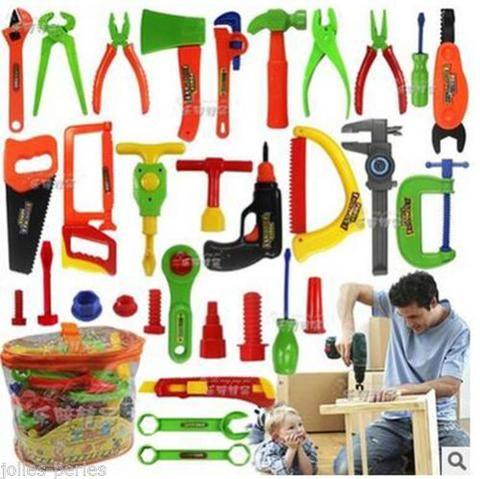JP 1Set Simulation Multicolor Children Toys Kids Tools Education Toys Set