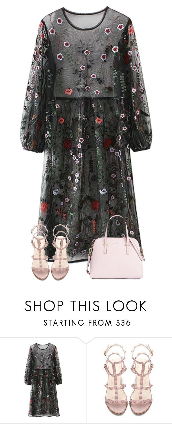 """Untitled #61"" by miagracerobinson ❤ liked on Polyvore featuring Kate Spade"