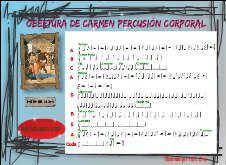 OBERTURA DE CARMEN Percusión Corporal,