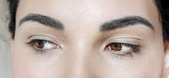 Resultado de imagen para cejas tatuadas antes despues