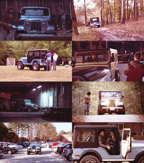 I love that Jeep. #stiles #teenwolf
