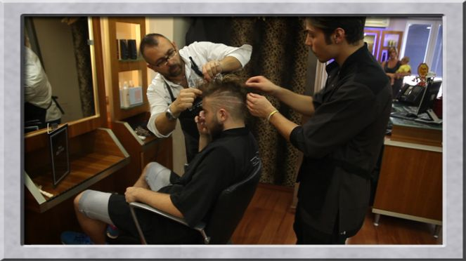 The #Boss, Enzo Sedente, at work!