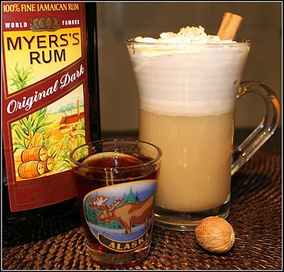 SANDRA'S HOLIDAY HOT BUTTERED RUM MIX from SCRATCH (click on image for recipe)...