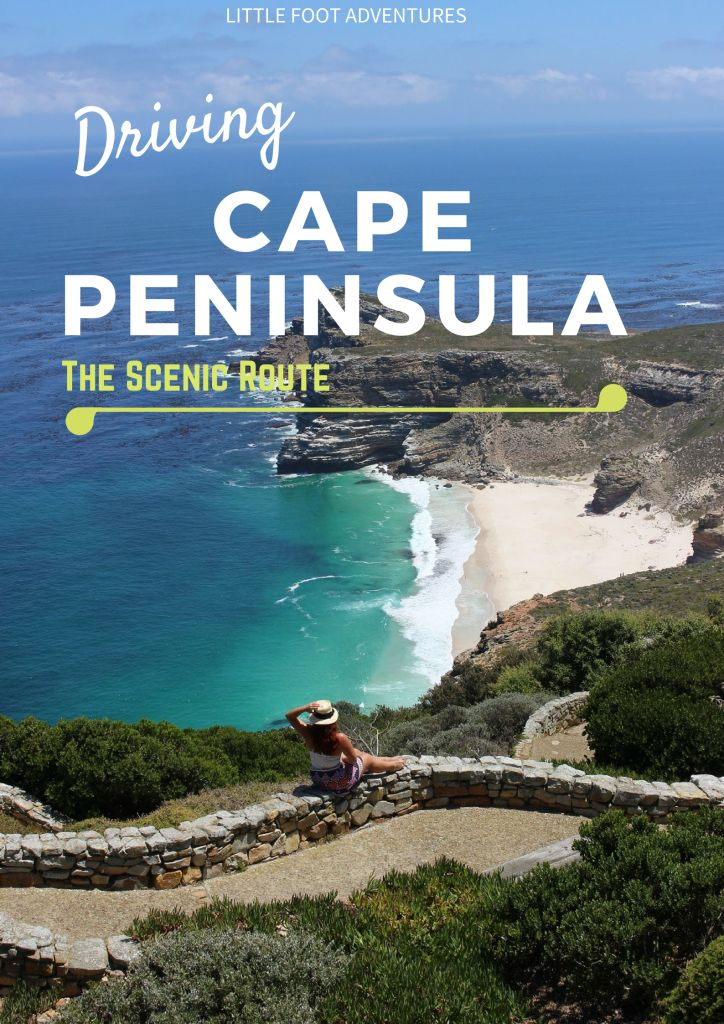 Driving the Cape Peninsula from Cape Town, South Africa, is something that everyone should really do! Why? The scenery is beautiful you can explore at your own pace. www.littlefootadventures.com