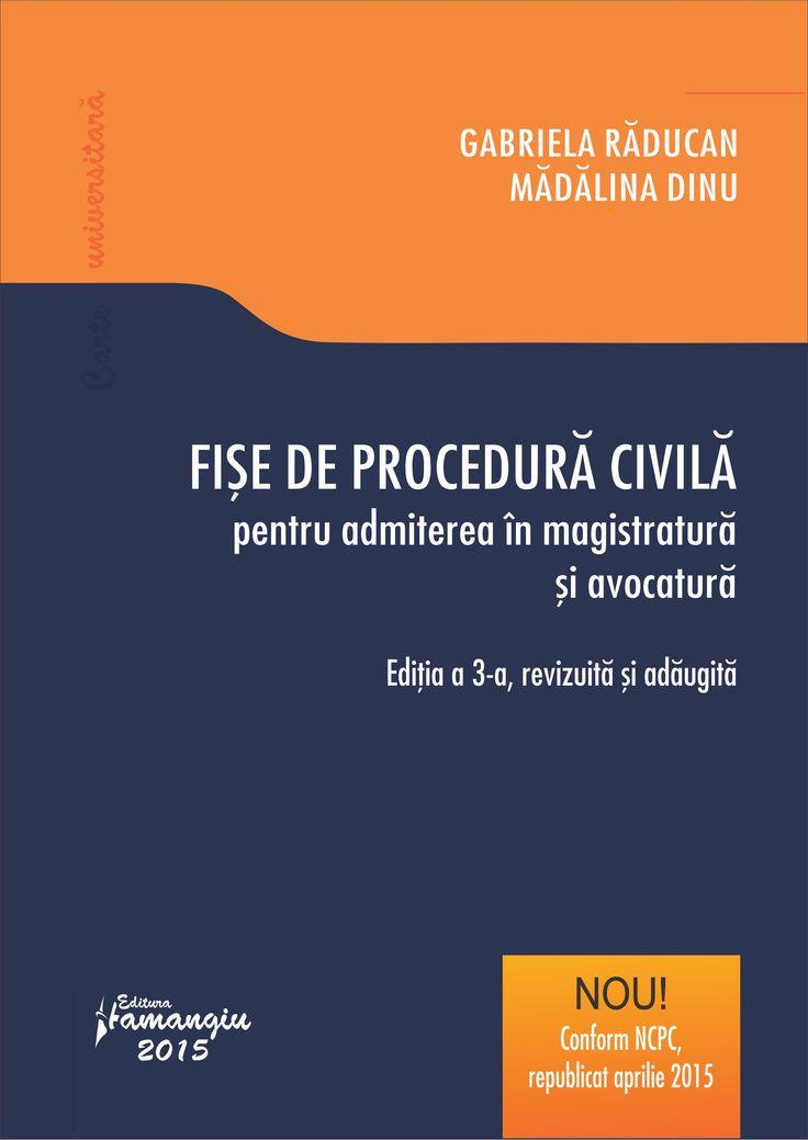 Fise de procedura civila pentru admiterea in magistratura si avocatura.