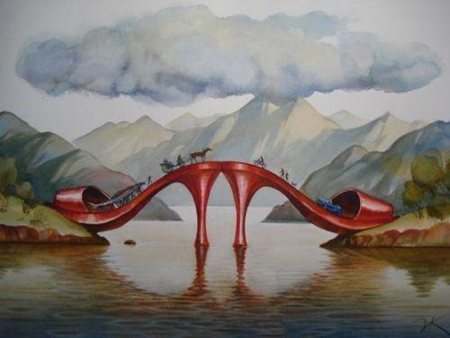 Landschaftsmalerei surrealismus  420 besten Surreal Bilder auf Pinterest | Malerei, Pop surrealism ...