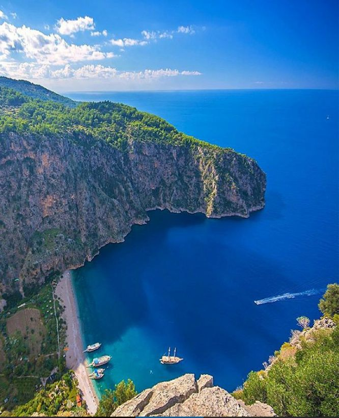 Butterfly Valley in #Oludeniz #Turkey