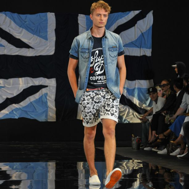 We teamed up with the @BritishFashionCouncil to kick off London Collections: Men & preview our Spring/Summer 15 collection #SuperdrySS15 #LCM #BFC #Fashion #Catwalk #Preview #Style