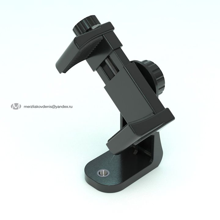holder for phone 3d model