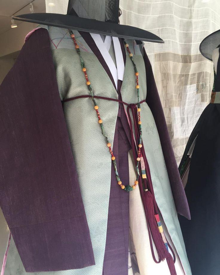 두루마기, 쾌자, 갓 #남자한복 #한복 #바느질풍경 #sewinglandscape