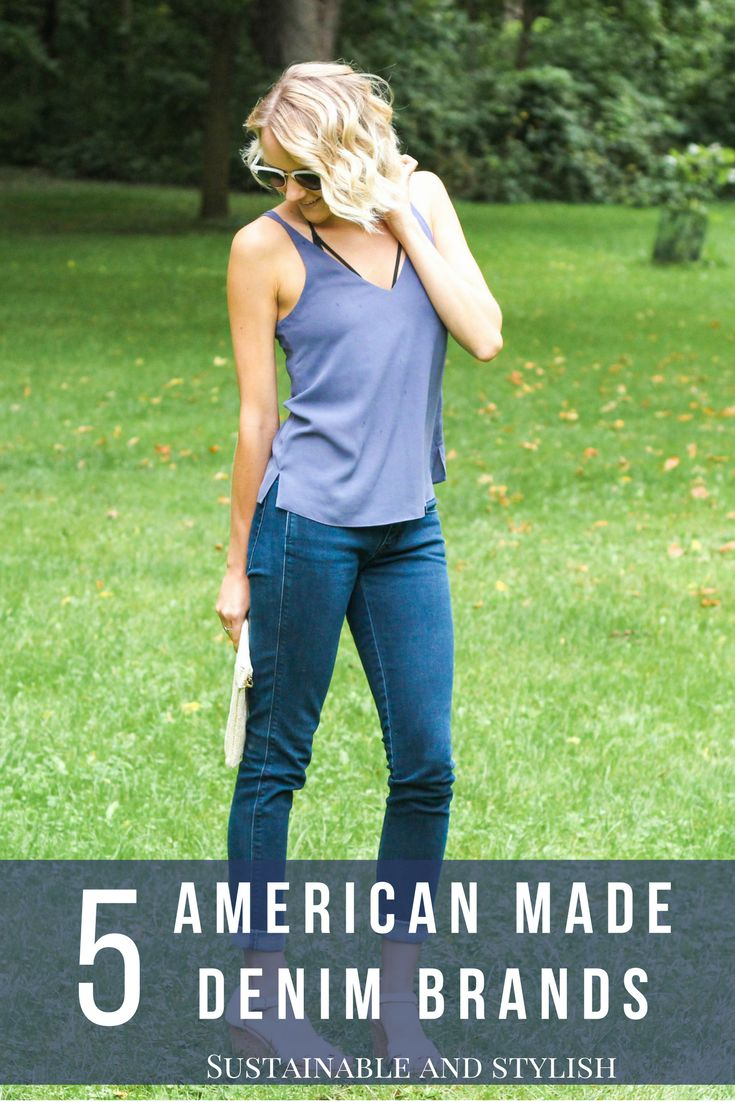 The best sustainable, american made denim brands!