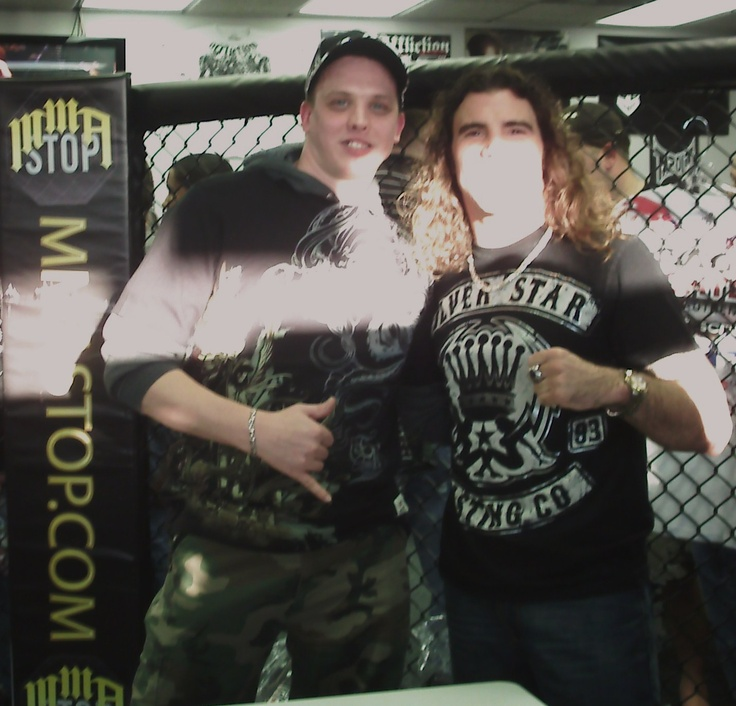 Clay Guida and me